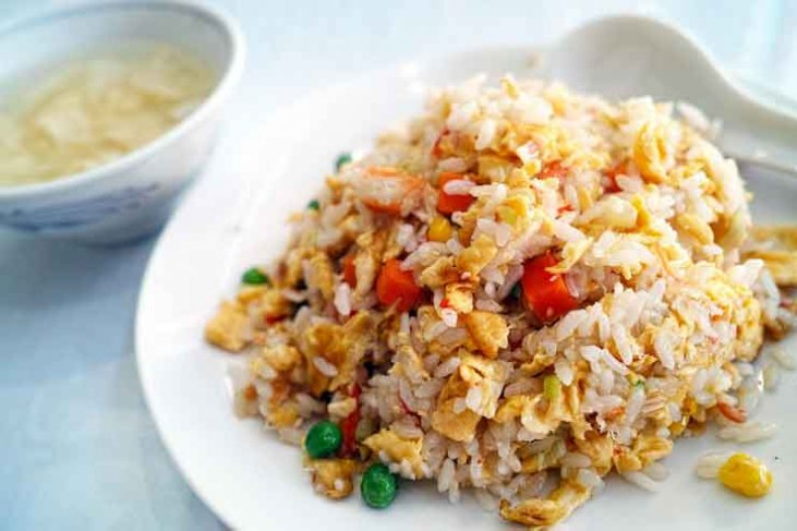 nasi rijst koken